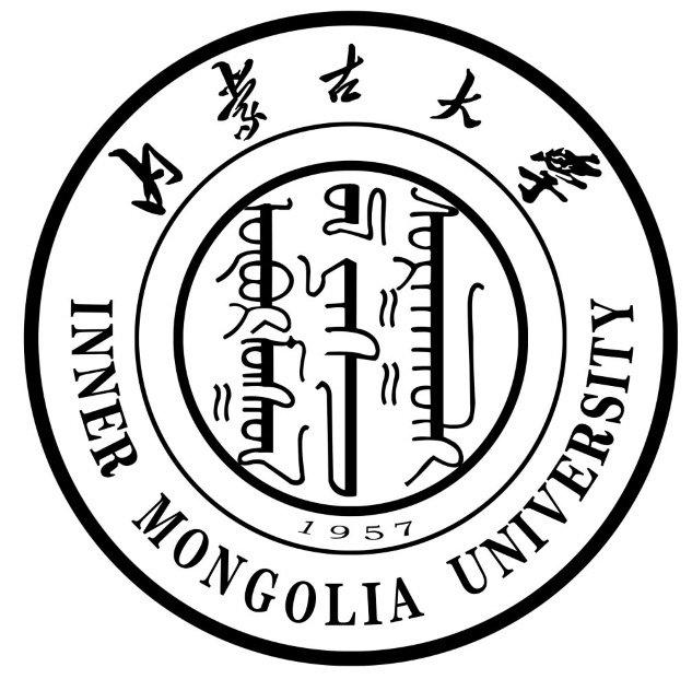 内蒙古大学主楼矢量图