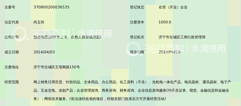 山东彩讯电子商务股份有限公司_360百科