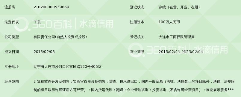 速信贸易(大连)有限公司_360百科