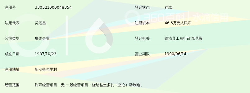 德清县勾里砖瓦二厂御金沙小学图片