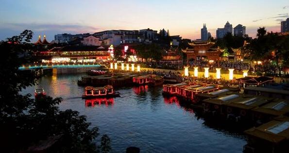 南京风景图片 手绘