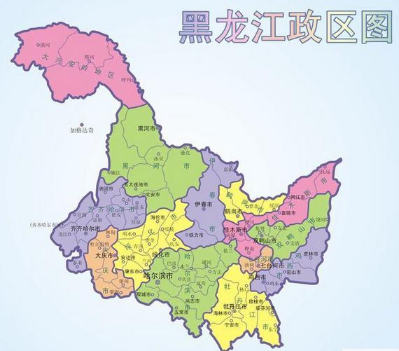 黑龙江海伦市海北镇地图
