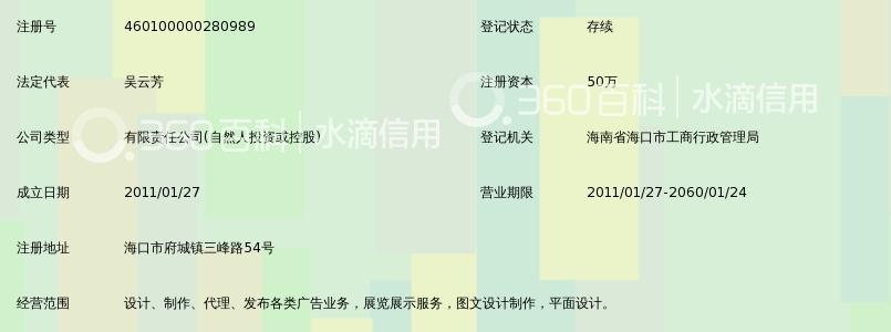 海口双飞马传媒广告有限公司_360百科